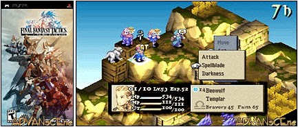 Final Fantasy Tactics: The War of the Lions – USA Download