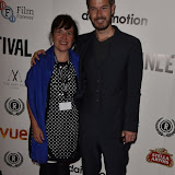 OIC - ENTSIMAGES.COM - Maeve Murphy and Scott Williams at the Taking Stock Premiere at the Raindance Film Festival  London 4th October 2015  Photo Mobis Photos/OIC 0203 174 1069