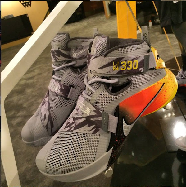 Nike Debuts Special LeBron Soldier 9 PE for NikeBasketballAcademy