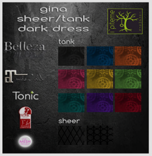 Gina Tank Sheer Dark HUD