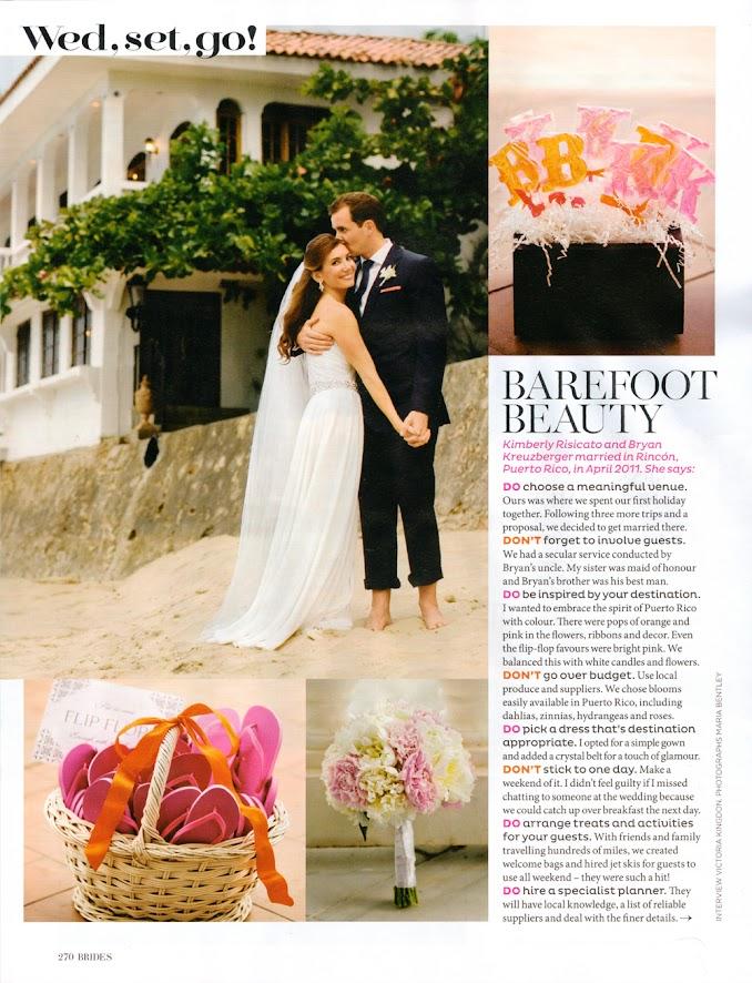 Brides Magazine May/June Issue Studio 1208 (Maria Bentley) feature