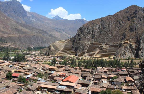pueblo Ollantaytambo Cusco