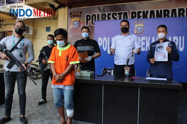 Saling Ejek, Buruh Bangunan Di Kota Pekanbaru Tewas di Tikam Rekan Kerjanya Di Bagian Dada Dan Perut