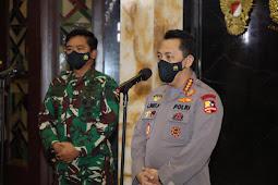 Tekankan Sinergitas dan Soliditas, Kapolri Silaturahmi ke Panglima TNI,