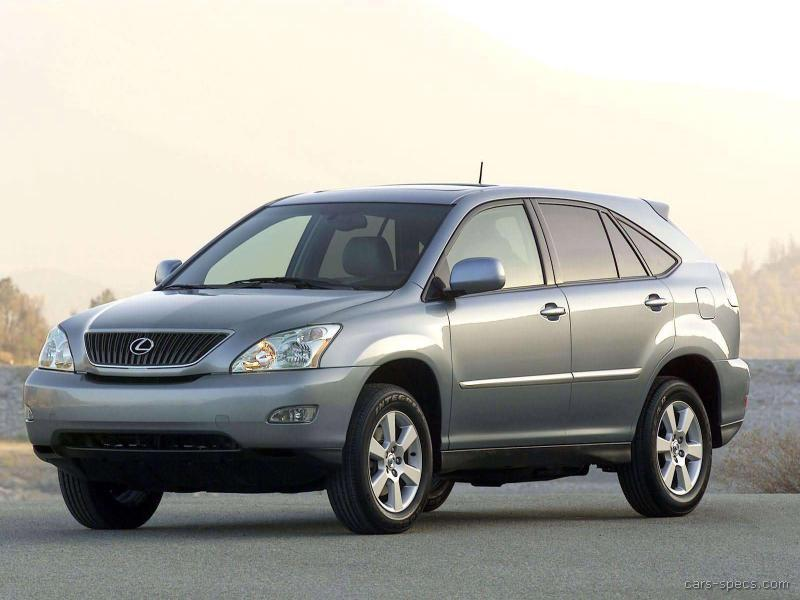 2007 lexus rx 350 suv specifications pictures prices. Black Bedroom Furniture Sets. Home Design Ideas