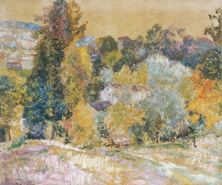 Victor Charreton - Féerie d'automne