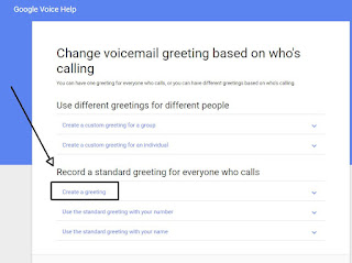 How do you set up a voicemail on a google voice phone number httpssupportgooglevoiceanswer115069hlenreftopic1708439 m4hsunfo