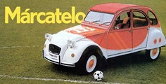 Citroën 1982 2 CV Marcatelo