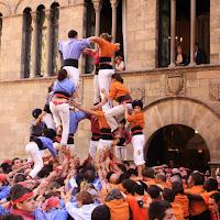 XII Trobada de Colles de lEix, Lleida 19-09-10 - 20100919_184_4d7_germanor_Colles_Eix_Actuacio.jpg