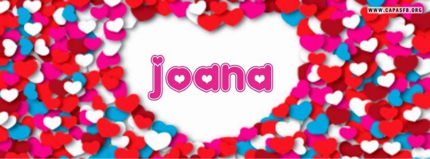 Capas para Facebook Joana
