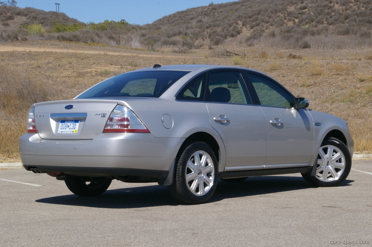 2008 ford taurus sedan specifications pictures prices. Black Bedroom Furniture Sets. Home Design Ideas