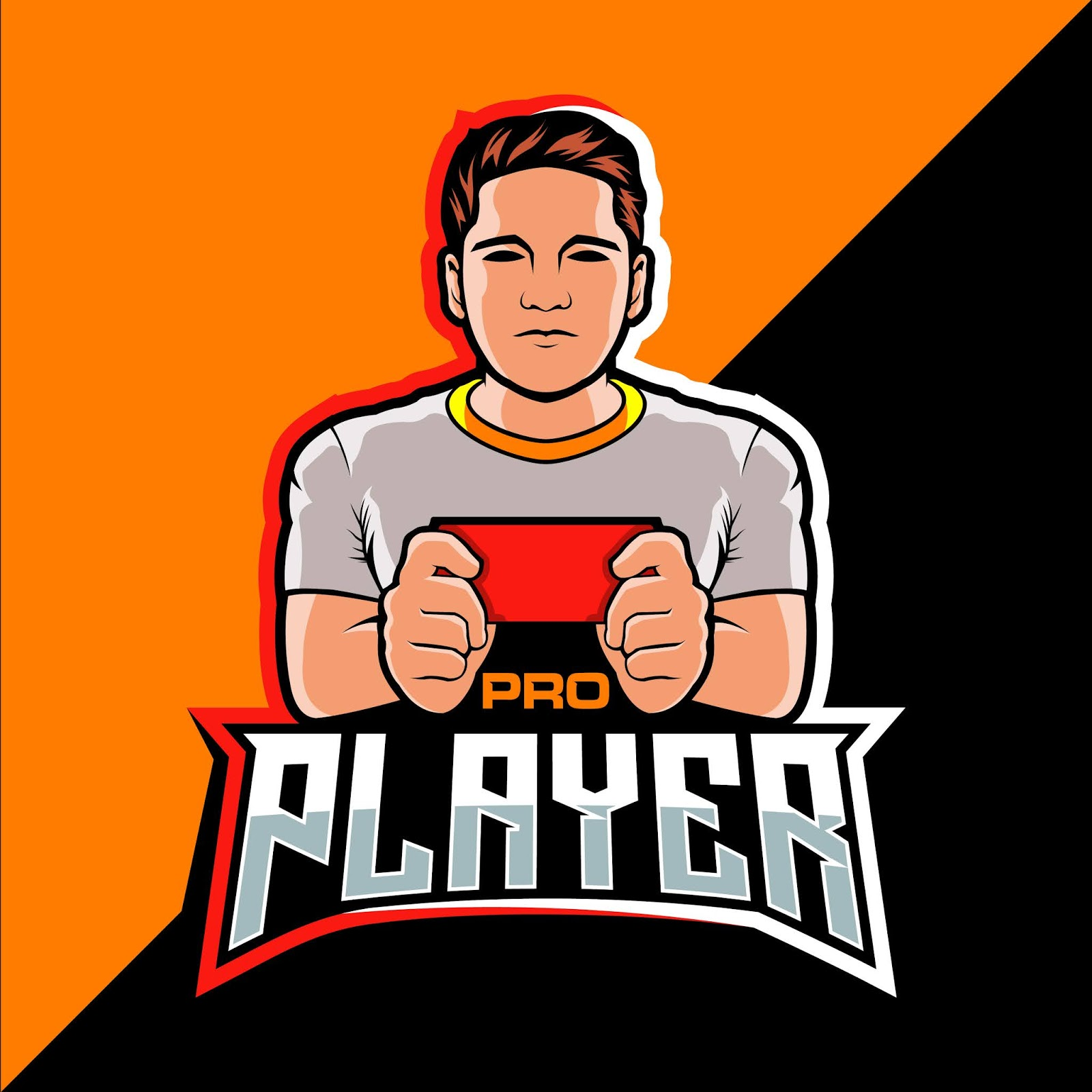 Pro Player Esport Free Download Vector CDR, AI, EPS and PNG Formats