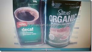 Decaf e Stevia