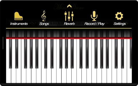 Mini Piano ® screenshot 5