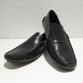 Giorgio Armani Perforated Loafers