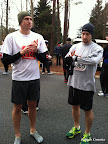 Steve and Justin pre-race.
