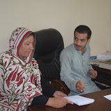 Prof Gul Naz Arshad visits GHA on 28-09-16