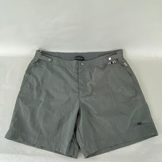 DANWARD NEW Gray Swim Trunk