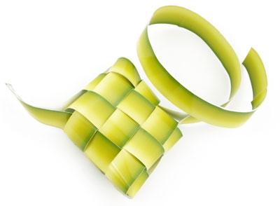 Ketupat, the most synonymous symbol with Hari Raya