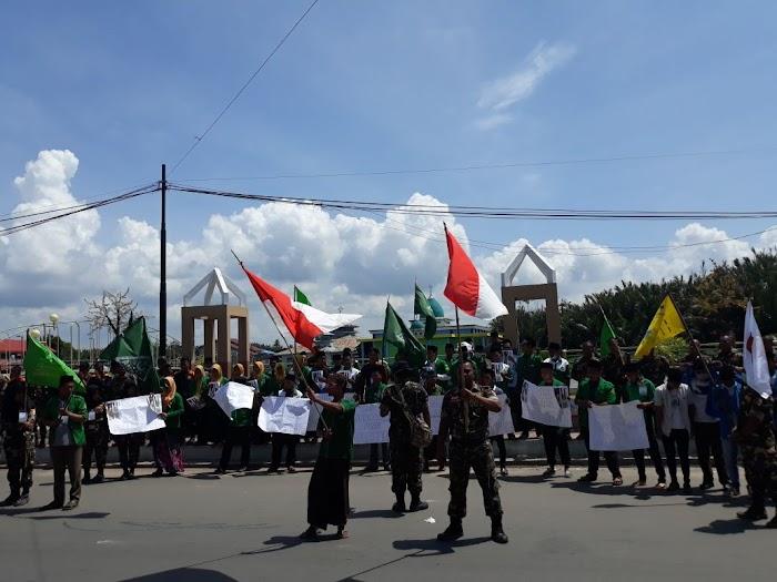 Gelar Aksi Solidaritas, Aktivis Muda NU: Indonesia Bersatu untuk Palestina