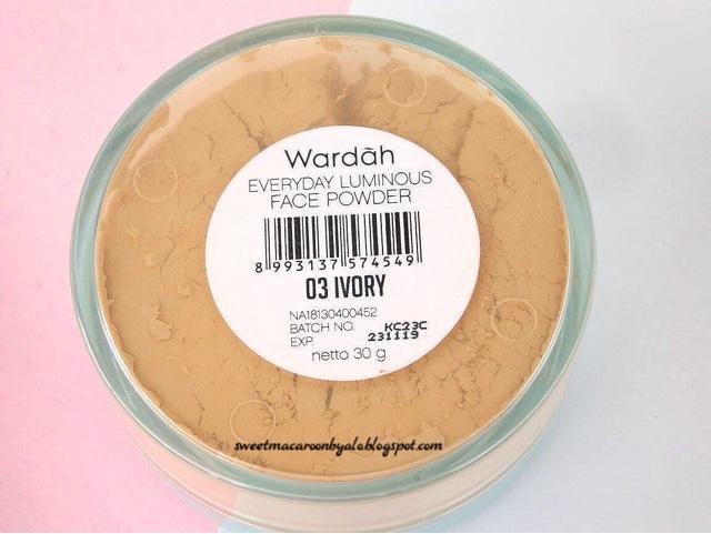 REVIEW Wardah Everyday Luminous Face Powder