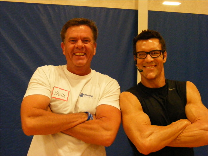 Tony Horton And Blake Warrington Of P90x Bringing It Fame, Tony Horton
