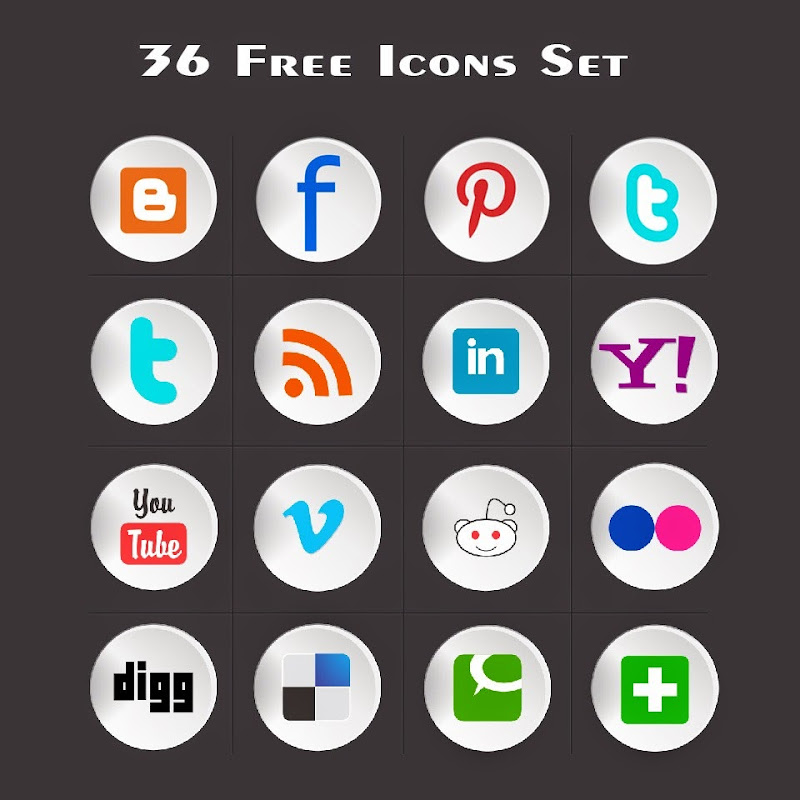 36-Free-rounded-social-Icons
