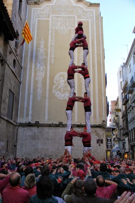 19è Aniversari Castellers de Lleida. Paeria . 5-04-14 - IMG_9451.JPG