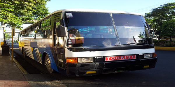 Luzviminda Travel and Tours: Cebu - Bus For Rent (Fuso Tourist)