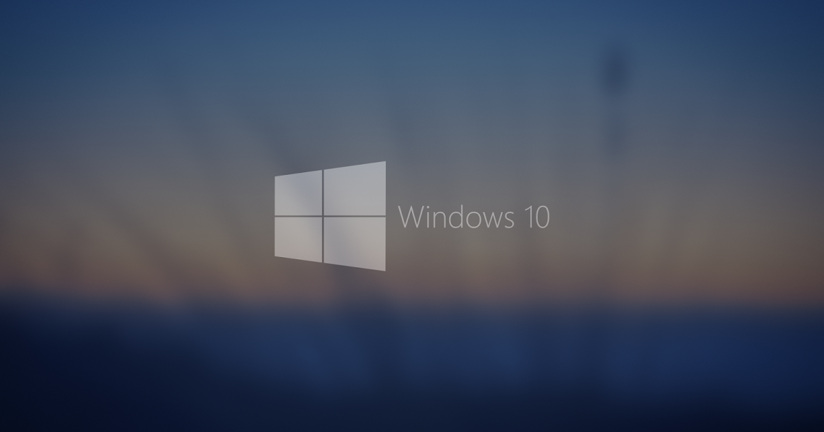 Fondos De Escritorio Windows 7 Full Hd: Windows 10 Blurred Background Wallpapers