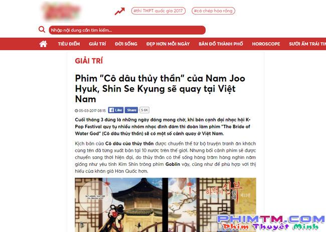 """Xôn xao tin Thủy Thần"""" mỹ nam Nam Joo Hyuk đến Việt Nam ghi hình - Ảnh 2."""
