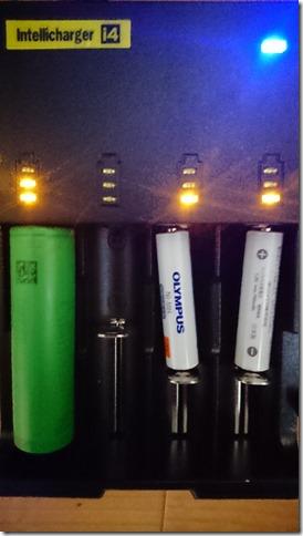 DSC 1374 thumb%25255B2%25255D - 【バッテリー/充電器】「NITECORE ナイトコア Intellicharger i4」レビュー。4本同時充電可能、コスパに優れたバッテリーチャージャー。