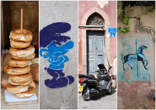 graffiti and abulafia bread, jaffa