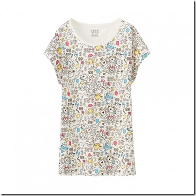UNIQLO Mr. Men Little Miss UT Graphic T-Shirt woman 05
