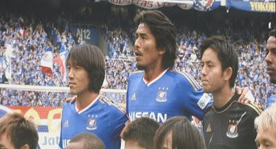 横浜F・マリノス中村俊輔と中澤佑二