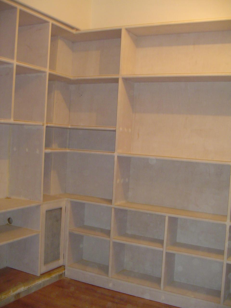 Tapa Carpintero: Bibliotecas