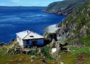 1977 г. Семиостровье. Биостанция на острове Харлов