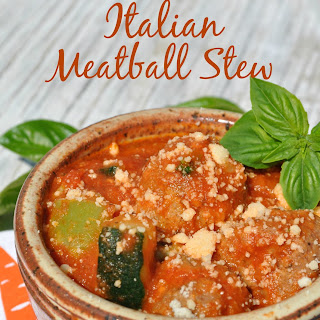 Slow Cooker Italian Meatball Stew Recipe