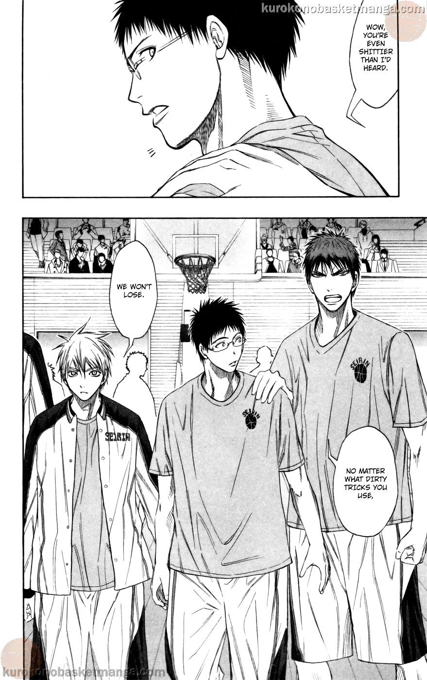 Kuroko no Basket Manga Chapter 100 - Image 14