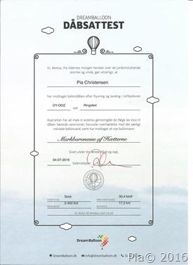 Dåbsattest