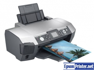 How to reset Epson PM-G850 printer