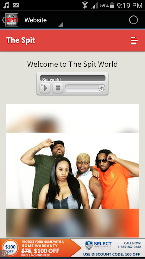 The Spit Radio  screenshots 3