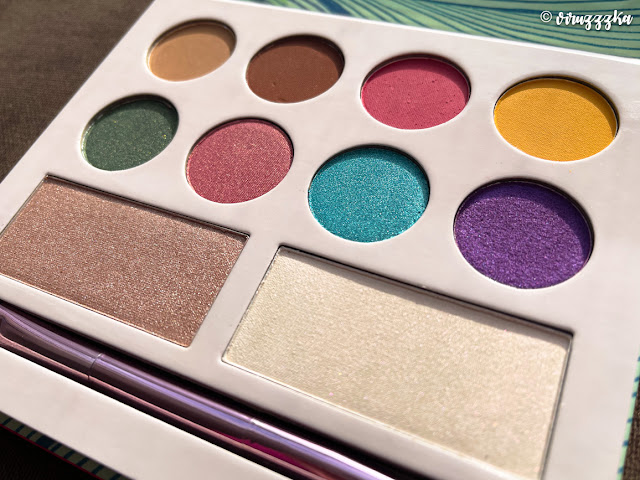 LAURA MAKEUP LABS Moods Eyeshadow and Highlighter Palette Reviews Photo
