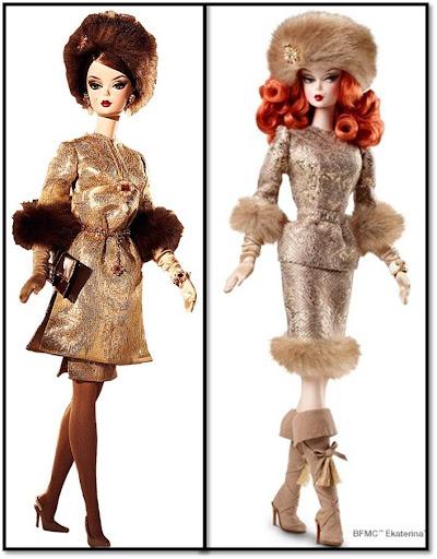 Barbie Silkstone Je ne sais quoi y Barbie Silkstone Ekaterina