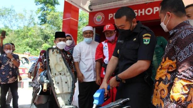 Wagub Apresiasi Pesantren Kelola Pertashop di Sijunjung