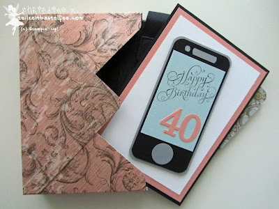 stampin up, envelope punch board, beautiful birthday, geburtstag, smartphone, soho subway