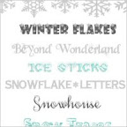 winter fonts