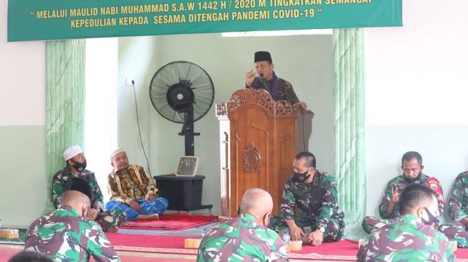 Tingkatkan Keimanan Dan Ketaqwaan Kodim 0311/Pessel Gelar Maulid Nabi Muhammad S.A.W