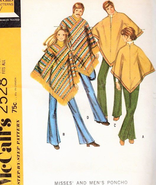Male Pattern Boldness Ponchos For Men Yea Or Nay