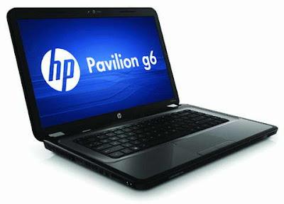 HP Pavilion g6t budget-class laptop images